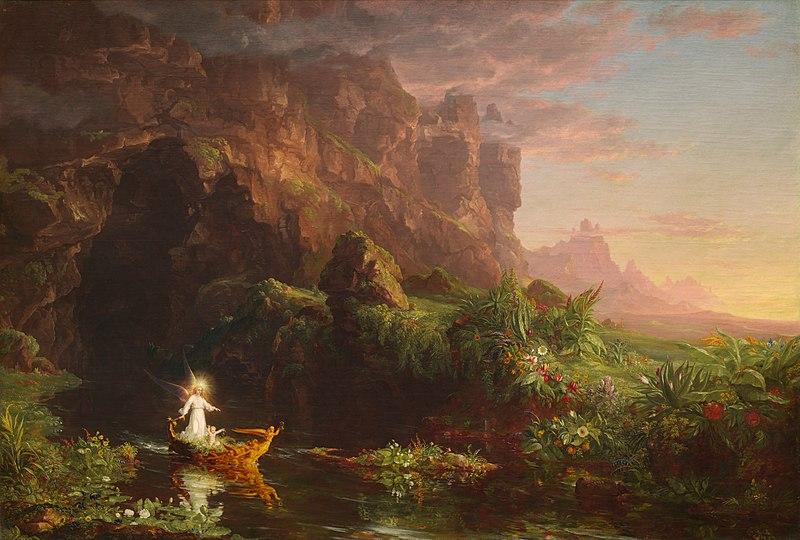 The Voyage of Life, Childhood - Thomas Cole