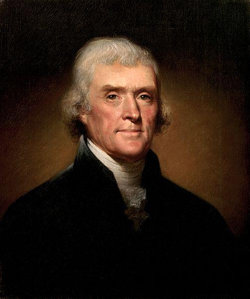 Thomas Jefferson - Rembrandt Peale