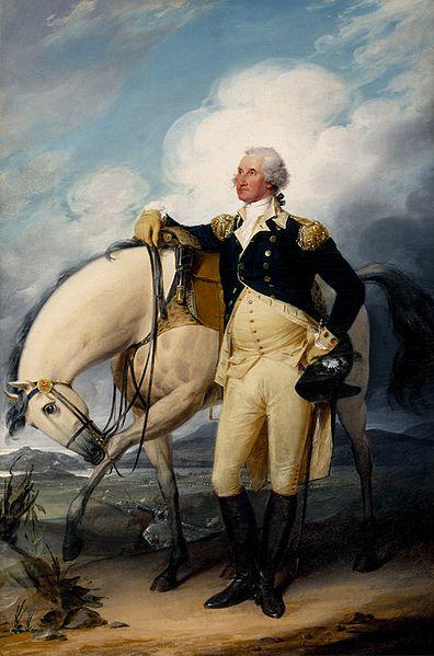 Washington at Verplanck's Point - John Trumbull