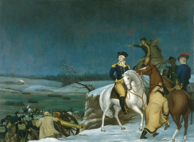 Washington at the Delaware - Edward Hicks