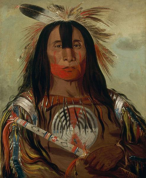 Buffalo Bulls Back Fat, Head Chief, Blood Tribe - George Catlin