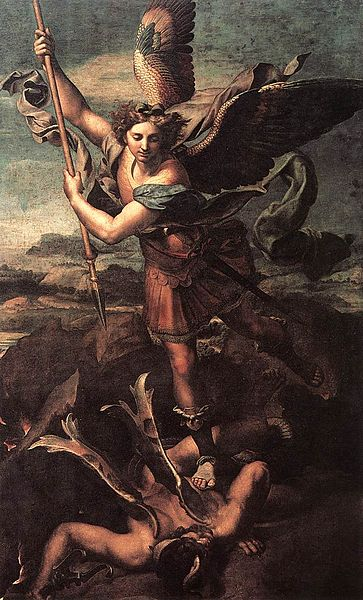 St. Michael Vanquishing Satan - Raphael