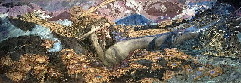 The Demon Downcast - Mikhail Vrubel
