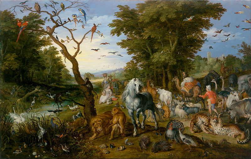 The Entry of the Animals into Noahs Ark - Jan Brueghel the Elder