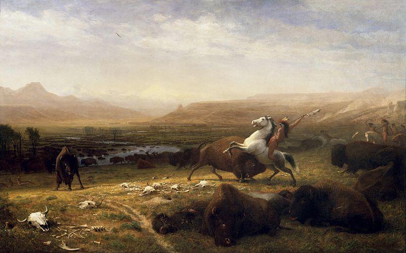 The Last of the Buffalo - Albert Bierstadt