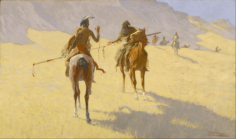 The Parley - Frederic Remington