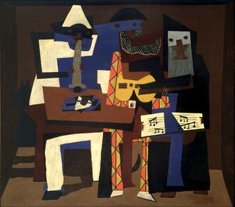 Three Muscians - Picasso